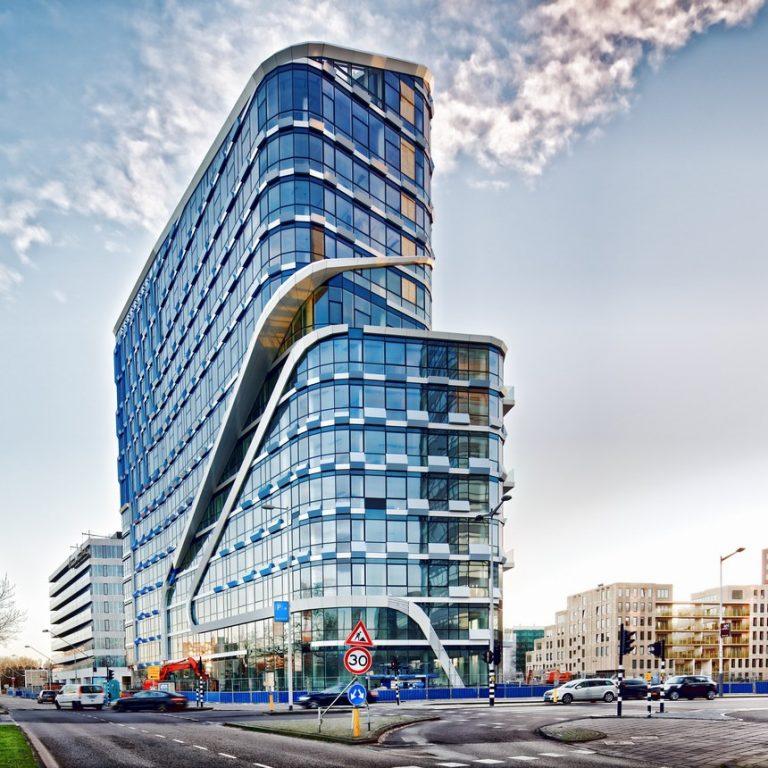gevelmontage Beethovenstraat amsterdam